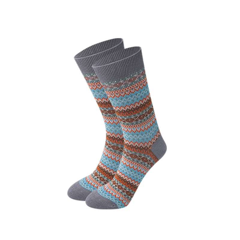 JZSC-2 Best Quality! Combed Cotton Winter Stockings, Soft And Warm Man's Socks, Sold In Half A Dozen/ Dozen Shipped Randomly