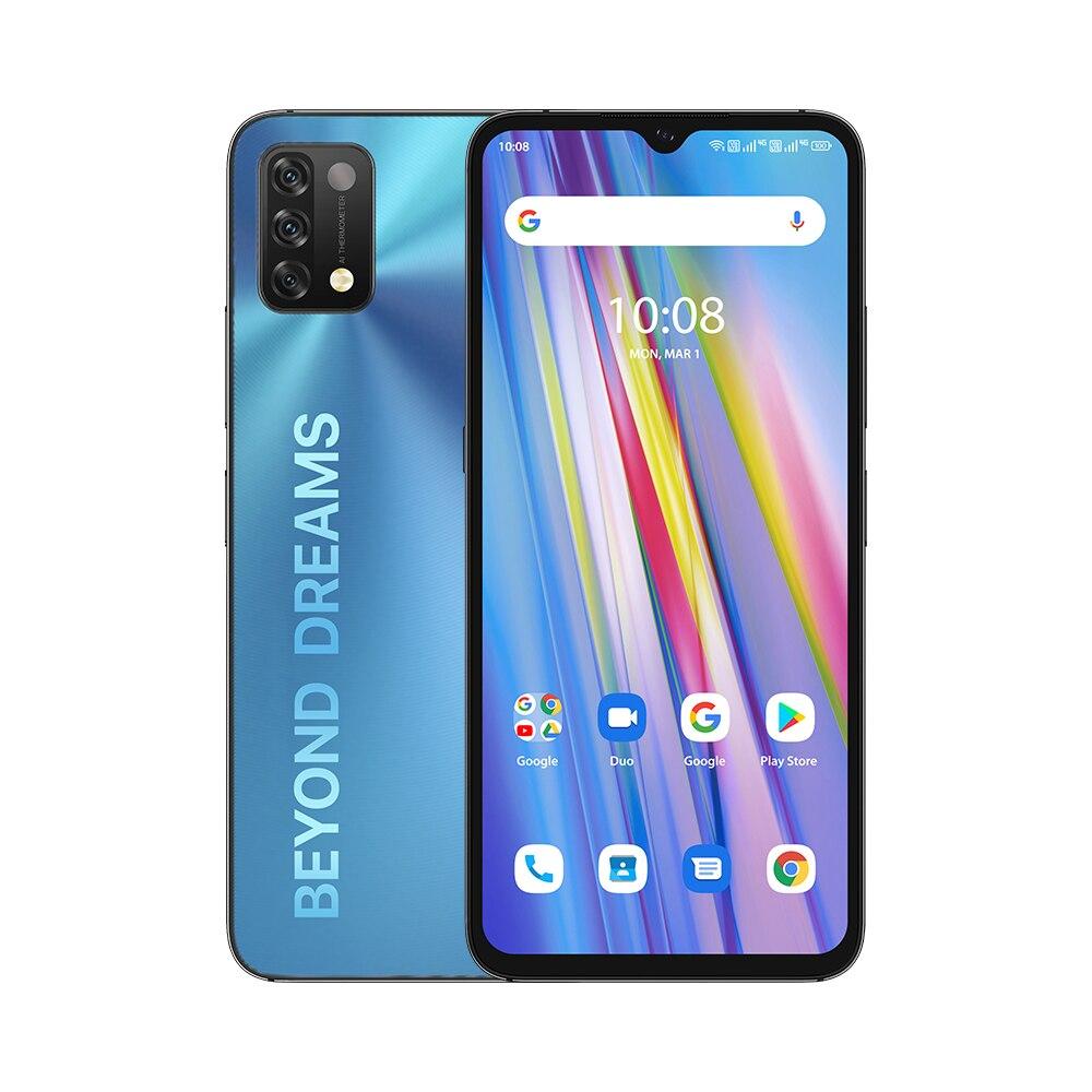 "Global Version UMIDIGI A11 Android 11 Smartphone Helio G25 64GB 128GB 6.53"" HD+ 16MP Triple Camera 5150mAh Cellphone"