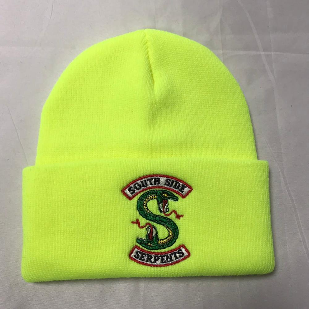 Riverdale South Side Serpents Cosplay Hats Beanie Cap