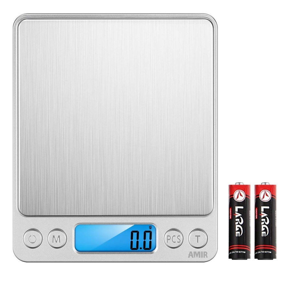 Electronic Kitchen Scale Digital Food Weighing LCD Measuring Tools portable household kitchen scale