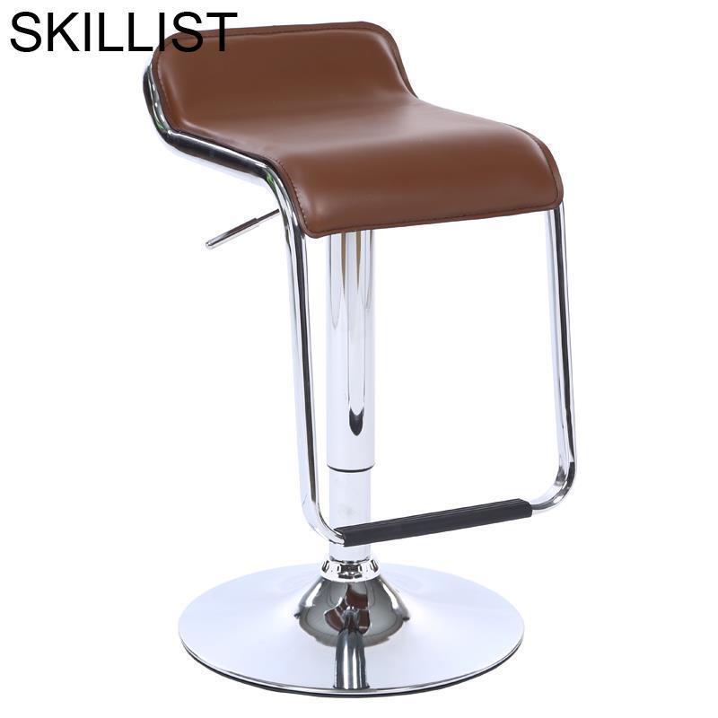 Hokery Sedie Silla Kruk Barstool Sgabello Cadir Banqueta Stoel Leather Stool Modern Cadeira Tabouret De Moderne Bar Chair