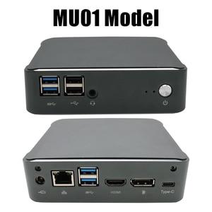 Image 4 - 2 * DDR4 כיס מיני מחשב Windows 10 Intel Core i5 8250U i7 8550U מיקרו מחשב מחשב M.2 SSD UHD גרפיקה 620 AC WiFi HDMI DP USB C