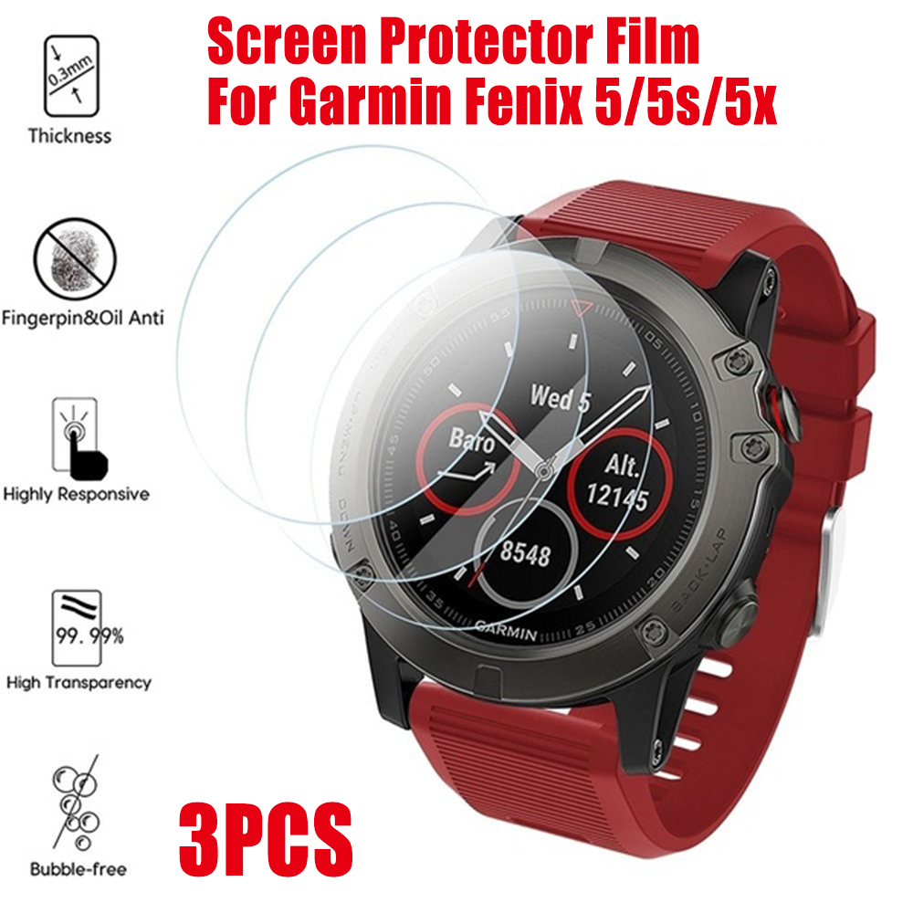 Tempered Glass Screen Protector Film Guard For Garmin Fenix 5 5S 6S 6X6 Pro YO