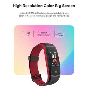 Image 2 - Смарт браслет Lenovo Band HX11 с пульсометром и цветным экраном, спортивный смарт браслет с отображением погоды, смарт браслет с напоминанием