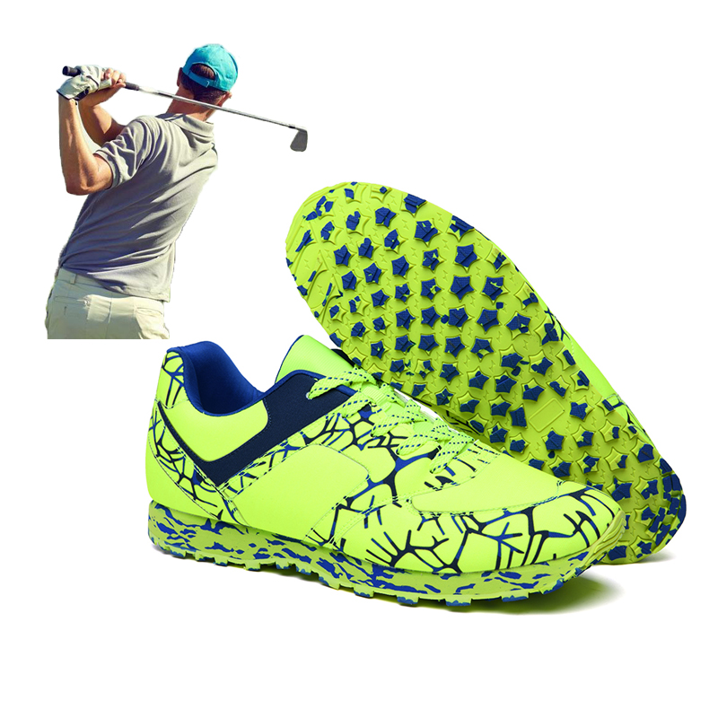 Professional Golf Shoes For Men Women Comfortable Anti Slip Mens Golf Sport Training Shoes Black Green Athletic Trainers Brand