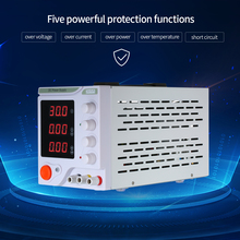 Adjustable Regulated DC Power Supply Switching Power 3 Digits Display LED 0-30V 0-5A High Precision Electrical Source цена и фото