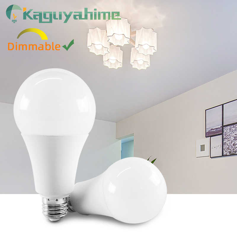 Kaguyahime 1pc/5pcs Dimmable LED Lamp E27 E14 220V High Brightness Bulb Light 3W~20W 5W 7W 9W 12W 15W Lampada Bombilla Spotlight