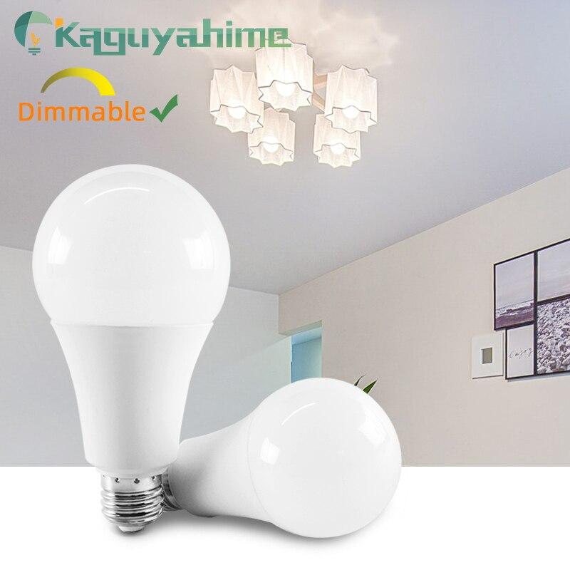 Kaguyahime 1pc/5pcs Dimmable LED Lamp E27 E14 220V High Brightness Bulb Light 3W~20W 5W 7W 9W 12W 15W Lampada Bombilla Spotlight