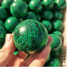 Gemstone sphere Malachite quartz Stone Crystal Balls sphere for healing