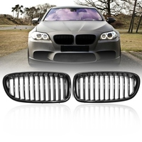 Gloss Black Front Kidney Grill Grille for BMW 5 Series F18 F10 F11 2010 2011 2012 2013 2014 2015 2016