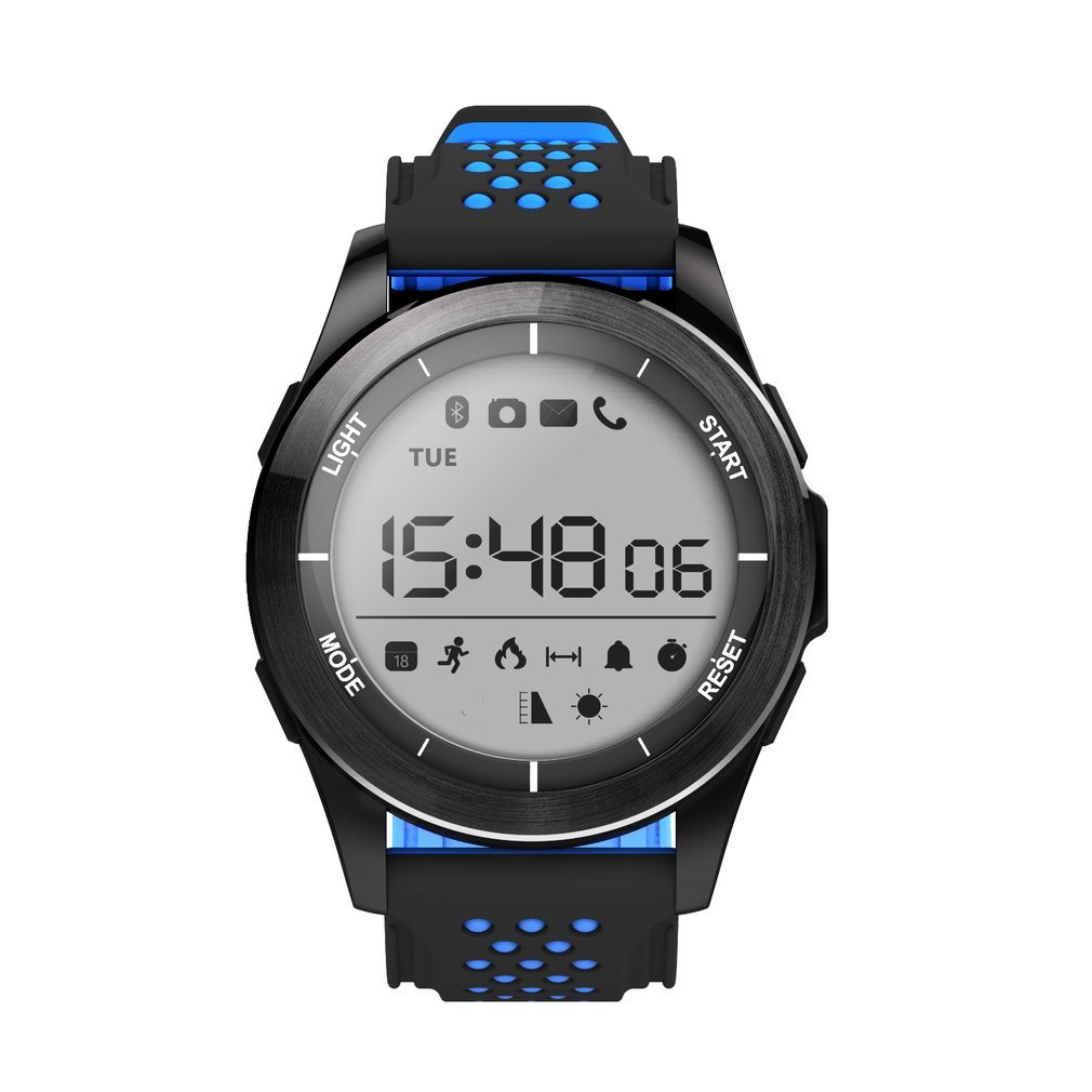 NO.1 F3 Sports Smartwatch Bluetooth IP68 Professional Waterproof Swimming Watch Pedometer Outdoor Wristwatch for Android IOS image