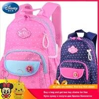 Disney Sophia Princess Children Backpack High Quality School Bag for Girls Cartoon Schoolbag Ultralight Kids Satchel Grade 1 3