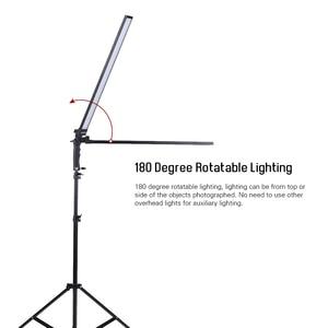 Image 3 - Andoer Kit de estudio de iluminación de vídeo, Kit de luz Led para estudio fotográfico, luz de relleno de mano regulable con soporte de luz 36w 5500K CRI90 +