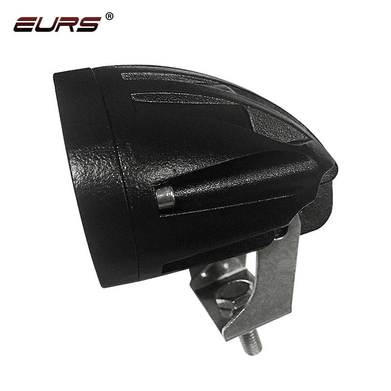 lowest price EURS 20W Motorcycle Headlights Lamp 3000K Spotlight Accessories headlamp LED Motor Spot Head Lights DRL 3000lm 6000K 12V 24V