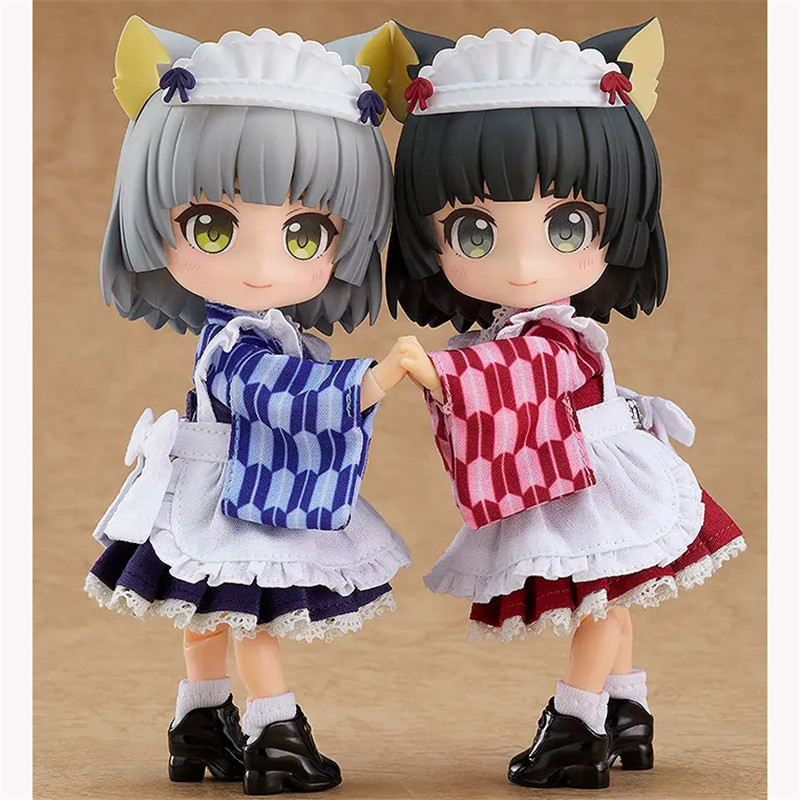 Pre Verkauf Sakura & Yuki Q Version Anime Figur Modelle 14Cm Action Figur Pvc Modelle Puppen Sakura & Yuki anime Peripherie Spielzeug Geschenk