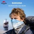 Naturehike Eis Gefühl Außen Schal UV Schutz Bandana Ski Wandern Angeln Neck Schal Radfahren Gesicht Maske Magie Schal
