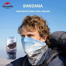 Naturehike – écharpe d'extérieur sensation de glace, Protection UV, Bandana, Ski, randonnée, pêche, cou, cyclisme, masque facial, écharpe magique