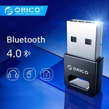 ORICO мини беспроводной usb-адаптер Bluetooth 4,0 Dongle звук музыки приемник адаптер для Windows XP/Vista/7/8/10 подключаться к Мышь