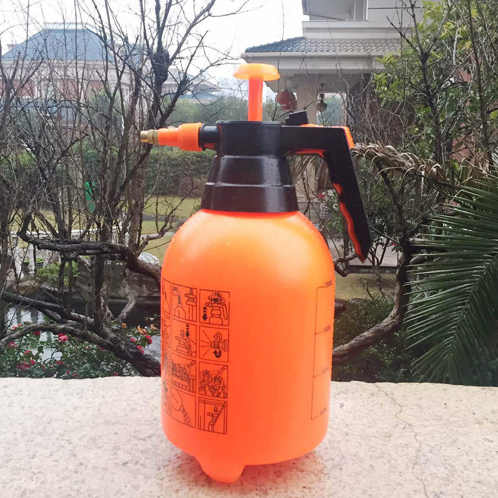 2L/3L Air Compression Pump Watering Bottle Gardening Fertilizers Manual Air Pressure Spray Can Sprayer