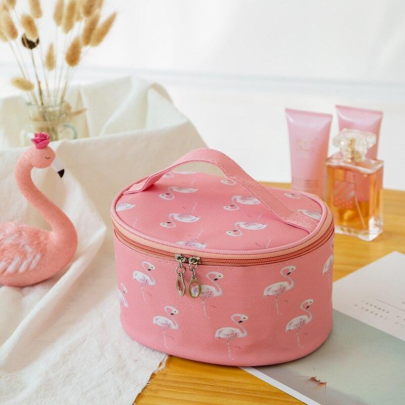 Women Drawstring Travel Cosmetic Bag Makeup Bag Organizer Make Cosmetic Bag Case Storage Pouch Toiletry Beauty Kit Box OC471