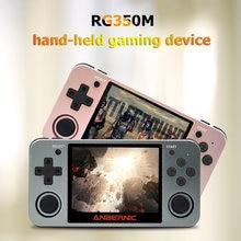 Портативная видеоигра powkiddy retro rg350m 35 дюймовый ips