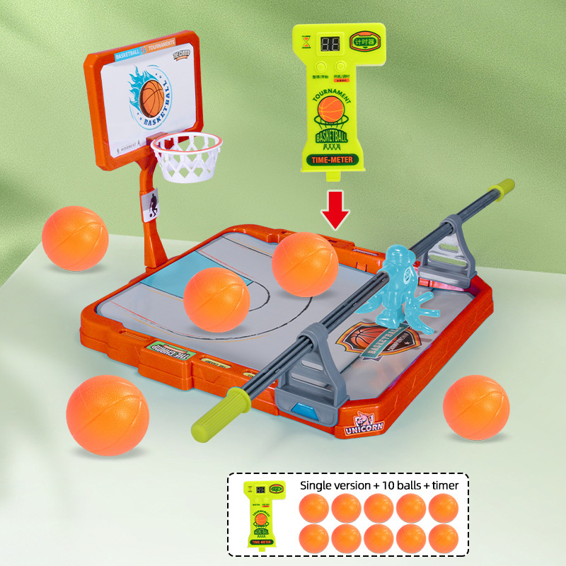 Montessori Basketball Shooting Board Games for Children from 3 Years Old Toddler Kids Interactive Party Game Toys Xmas Baby Gift