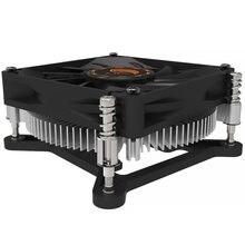 Htpc 1u кулер для ЦП сервера медный радиатор intel 1150 1151