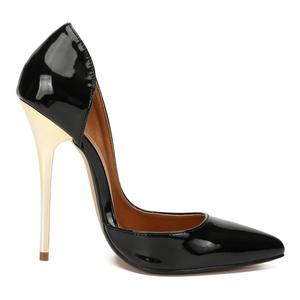 Image 5 - SDTRFT 2019 Plus:40 44 45 46 47 48 49 Red Black 14cm thin heels sexy Sandals Suede Stilettos Nightclub pumps women wedding shoes