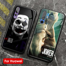 2019 Joker film soft silicone phone case cover glass shell for huawei honor v mate p 9 10 20 30 lite pro plus nova 2 3 4 5(China)