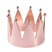 1 шт. кольцо для салфеток в форме короны для свадебных приемов, подарки для дома, отеля, банкета, обеденного стола, украшения
