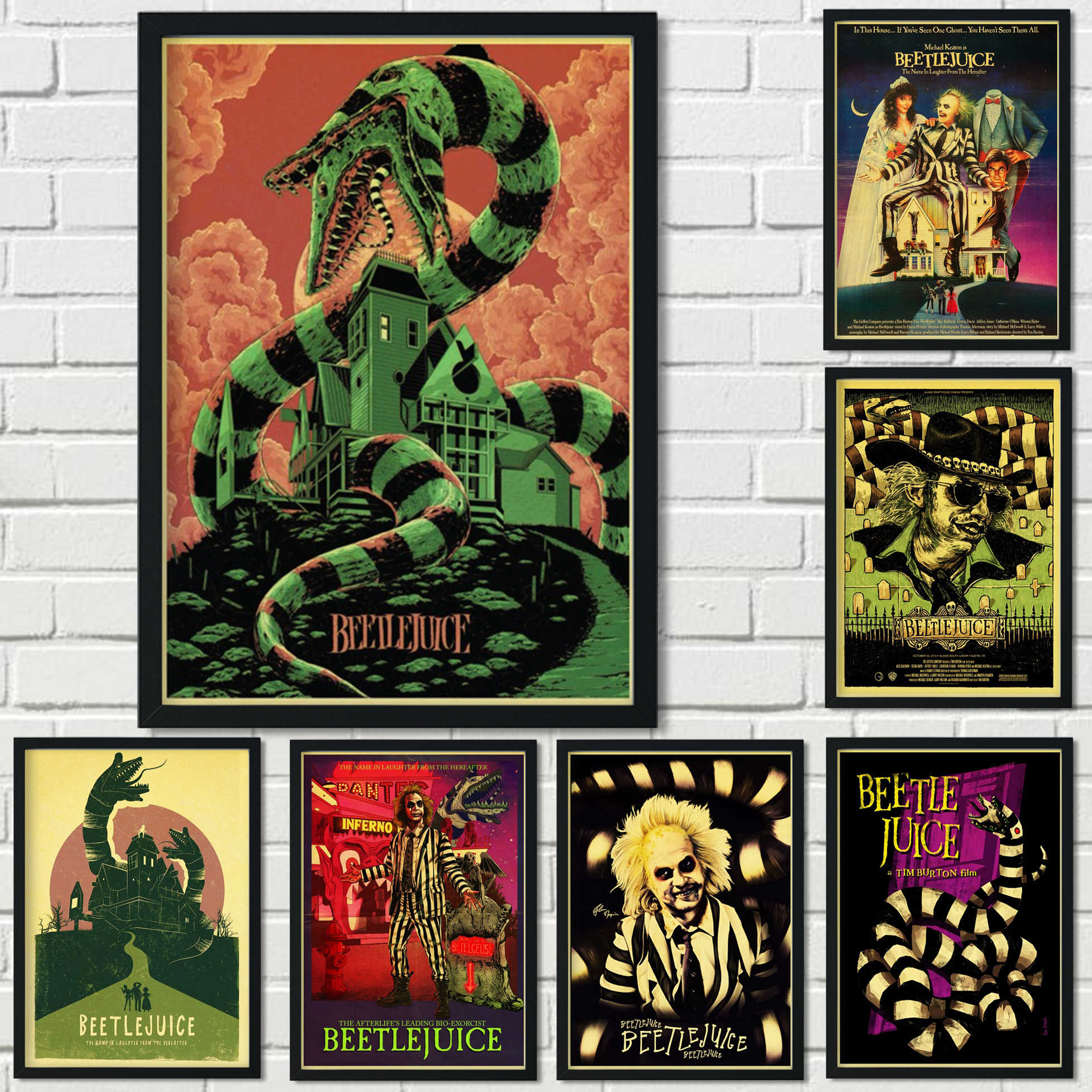 Beetlejuice Musical Broadway Wall Art Canvas Poster And Print Canvas Painting Decorative Picture Office Living Room Home Decor Aliexpress