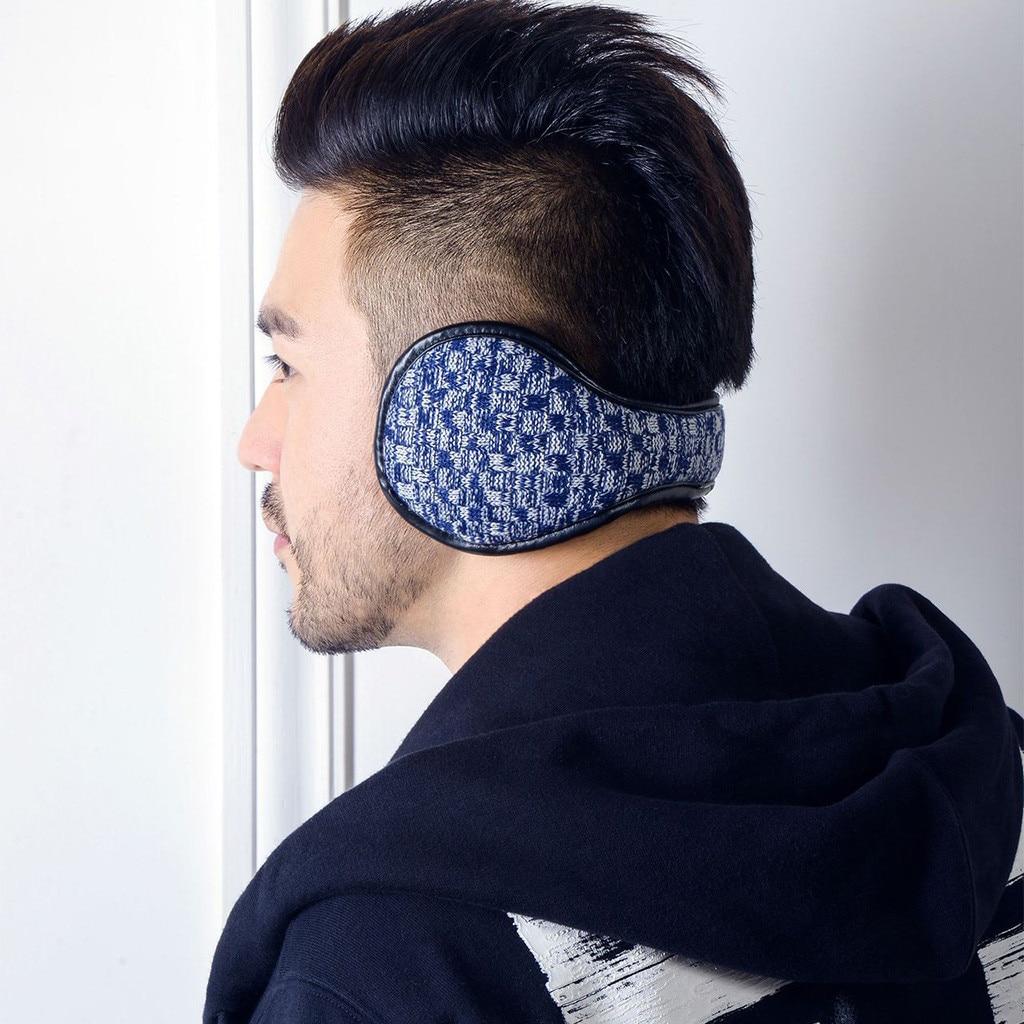 Unisex Foldable Winter Earmuffs WinterWindproof Ear Warmer Thicken Earmufuffs  Muffs Earlap Glitter Sequin Earmuffs Headband