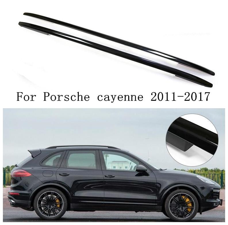 JINGHANG, rieles de techo de coche de aleación de aluminio, barras de soporte, plateado/Negro apto para Porsche cayenne 11-17 2011-2017 Antena de fibra de cristal LoRaWAN 868MHz omni 10dBi para exteriores, monitor de deslizamiento para techo, repetidor UHF IOT RFID lora