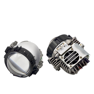 Image 3 - 40W 2.5 นิ้ว BI LED โปรเจคเตอร์เลนส์ Retrofit LED Headllamp สูงต่ำ Beam HID Xenon เลนส์รถอุปกรณ์เสริม
