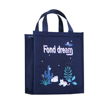 Newly Arrive Kids Cute Design Lunch Tote School Picnic Cooler Lunch Bag
