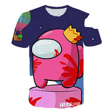 2021 Summer graphic t shirts with print Anime Cartoon Game Boys and Girls T-shirts New clothes for girls 12 13 14 Games