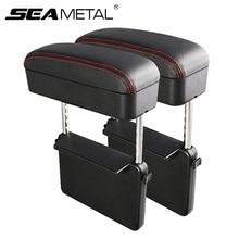 Car Center Console Arm Rest Car Styling Auto Seat Gap Organizer Arm Rest Box Universal Car Armrest Box Elbow Support Adjustable