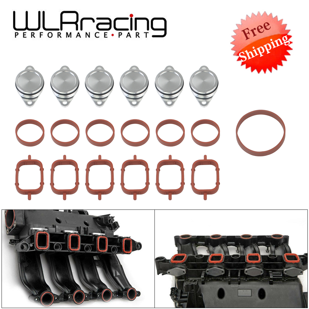 6 x 33mm for BMW M57 SWIRL BLANKS FLAPS repair delete kit with intake gaskets UK