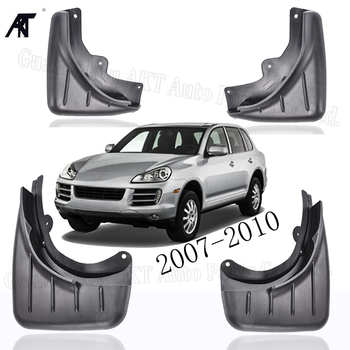Front Rear Car Mudguards FOR 2007-2010 9PA PORSCHE CAYENNE  Mudflap Fender Mud Flaps Guard Splash