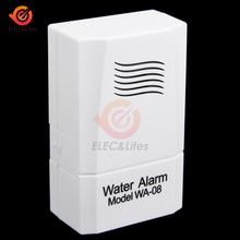 مستشعر تسرب المياه اللاسلكية مستوى المياه جهاز إنذار بالتسريب خزان الكاشف الأمن تجاوز الحماية للمنزل الذكي