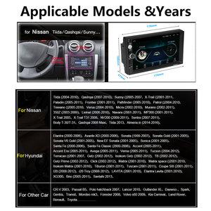 Image 4 - Podofo 2din Car Radio Android 2 din Car Multimedia Player GPS 2 DIN Audio stereo for Volkswagen Nissan Hyundai Kia Toyota Seat