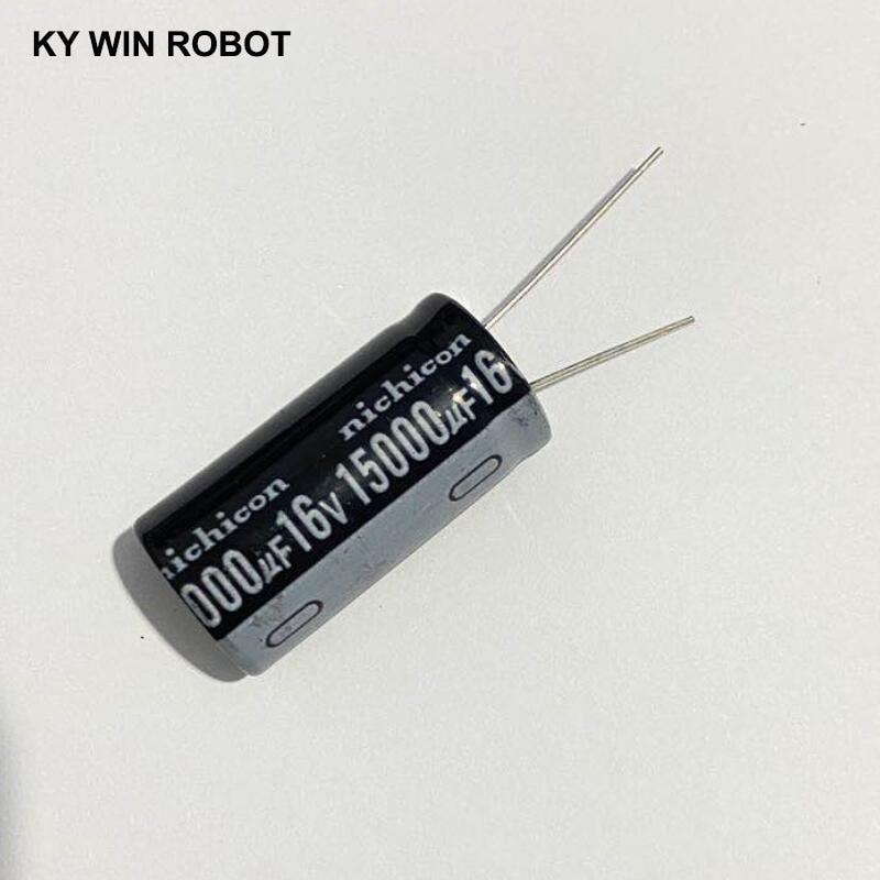 Aluminum Electrolytic Capacitor 16V / 15000 UF 16V/15000UF Electrolytic Capacitor Size 18*35 Mm Plug-in 16V 15000UF