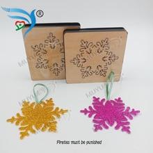 Christmas Snowflake DIY Wood Die Cutting Accessories for Market General Machines MY4032