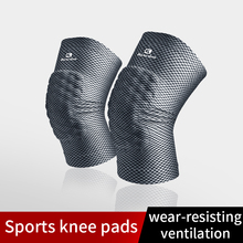 Kneepad Volleyball Brace-Support-Protect Cycling-Knee-Protector Thick-Pads Shockproof