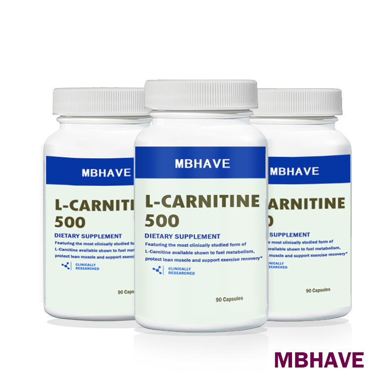 2019 Hot Sale Buy 2 Get 1 Bottle (90*3=270 Caps) L Carnitine Add Fat Burning And Helps Recover From Sports