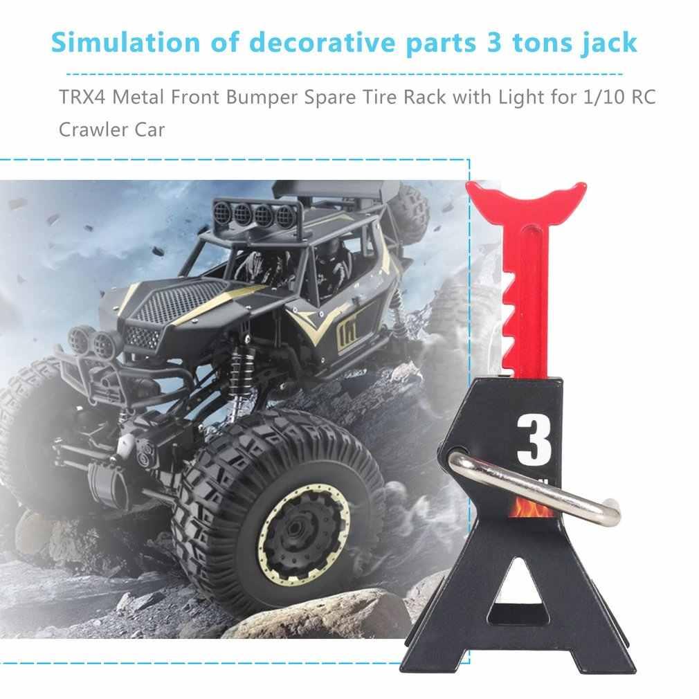 2 stks/paar RC Jack Stand 3-ton voor Traxxas HSP Redcat Rc4wd Tamiya Axiale RC Truck Metalen Versieren RC simulatie Accessoires