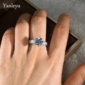 Yanleyu Classic Promise Wedding Ring Fin