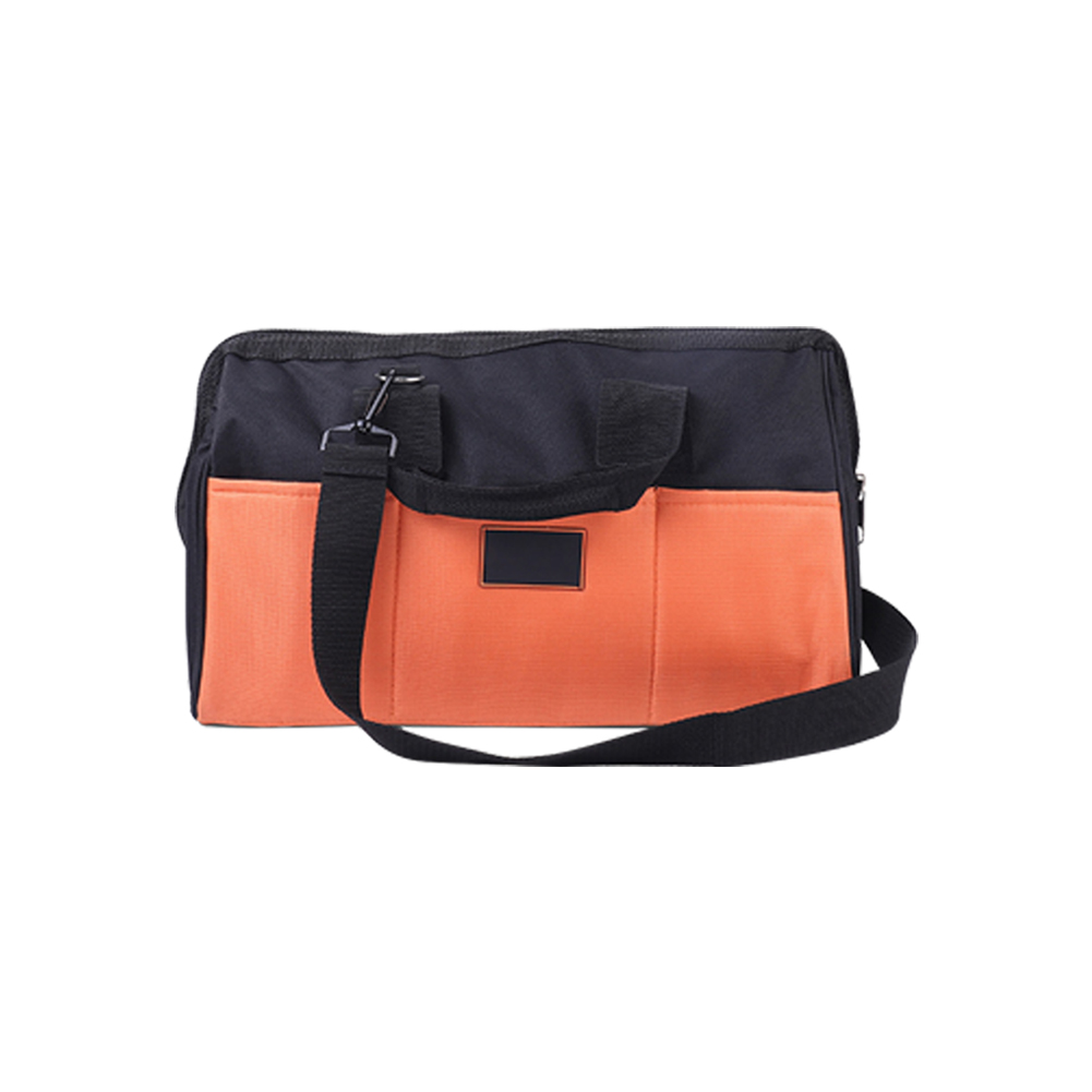 Storage Wear Resistant Waterproof Case PVC Coated Double Layer Handheld Tool Bag Zipper Oxford Cloth Strong Bearing Hardware