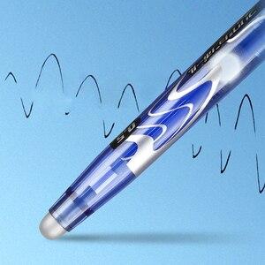 Image 4 - 8 יח\חבילה מותג Frixion טייס עט LFB 20EF מחיק ג ל דיו עט בינוני טיפ 0.5mm Bullet תלמיד כתיבה יומית
