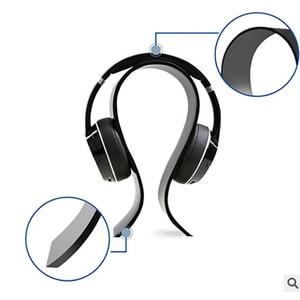 Image 4 - New Fashion Simple Gaming Cradle Acrylic Headset Stand Multifunctional Headphone Holder Bracket Display For Headphone